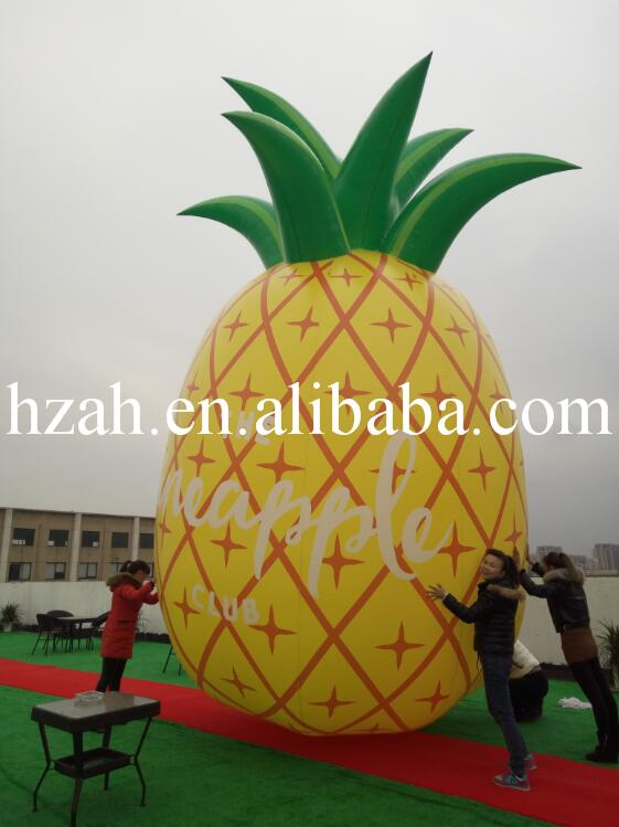 Giant Advertising Inflatable Pineapple Model for kia k2 high quality aircraft grade aluminum front grille around trim racing grills trim fo