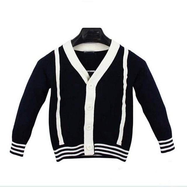 Nueva Ropa Para Bebés de La Muchacha del Resorte Suéter de Punto Caliente otoño Desgaste Del Bebé Marca Kids Boy Invierno Cardigan Suéteres de Alta calidad