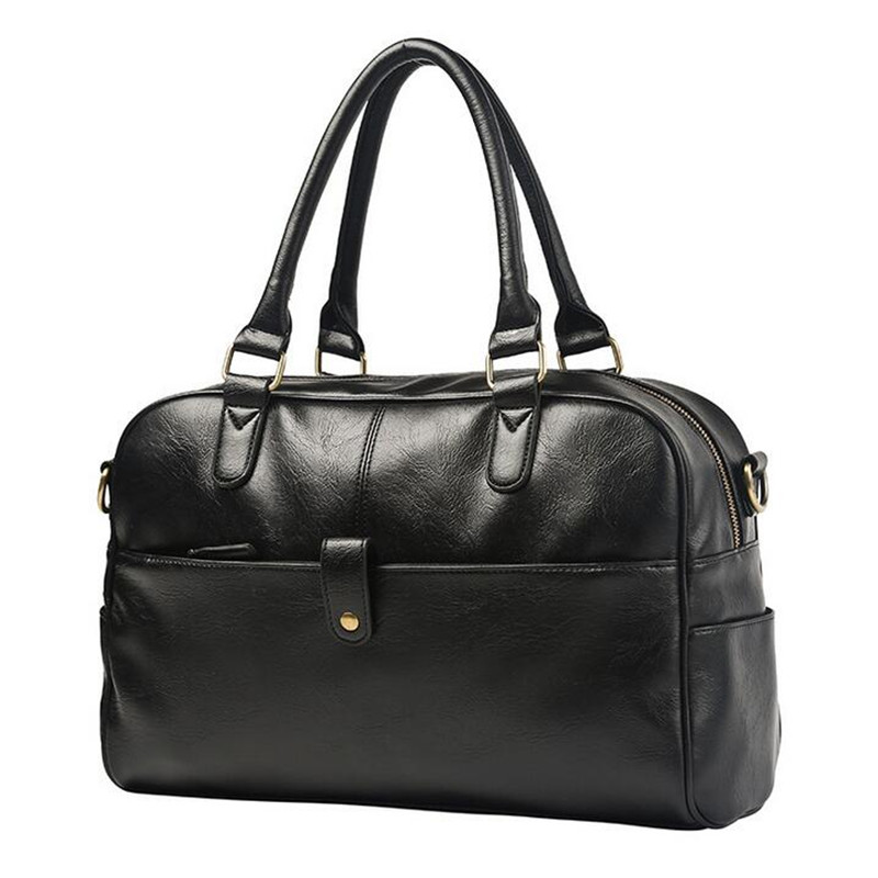 High Quality PU Leather Men Travel Bags Large Capacity Men Messenger Bags Travel Duffle Bag Handbags Men's Shoulder Bags Valise стоимость