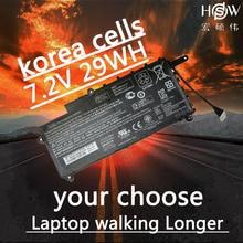 HSW New  7.2V 29Wh PL02XL Battery for HP Pavilion 11 x360 751681-421 HSTNN-LB6B TPN-C115  bateria akku цена