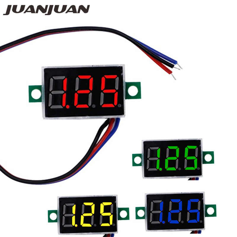 0.36 ''Digitale RODE LED Voltmeter Volt Meter Gauge Voltage Thuisgebruik Tool Panel Meter DC0-100V 42% off