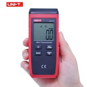 Image 2 - UNI T UT373 Mini Digitale Laser Toerenteller Non contact Toerenteller Meetbereik 10 99999 Rpm Toerenteller Kilometerteller Km/ H Backlight