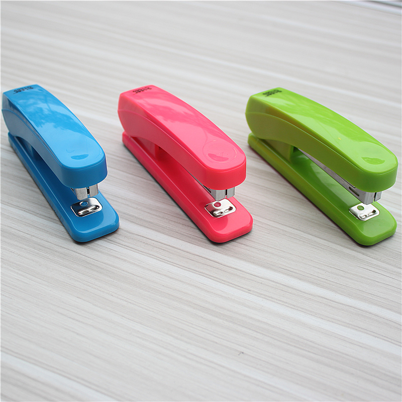 Lightweight Stapler With 10# Staples New Mechanical Design Office And School Stationery Free Shipping