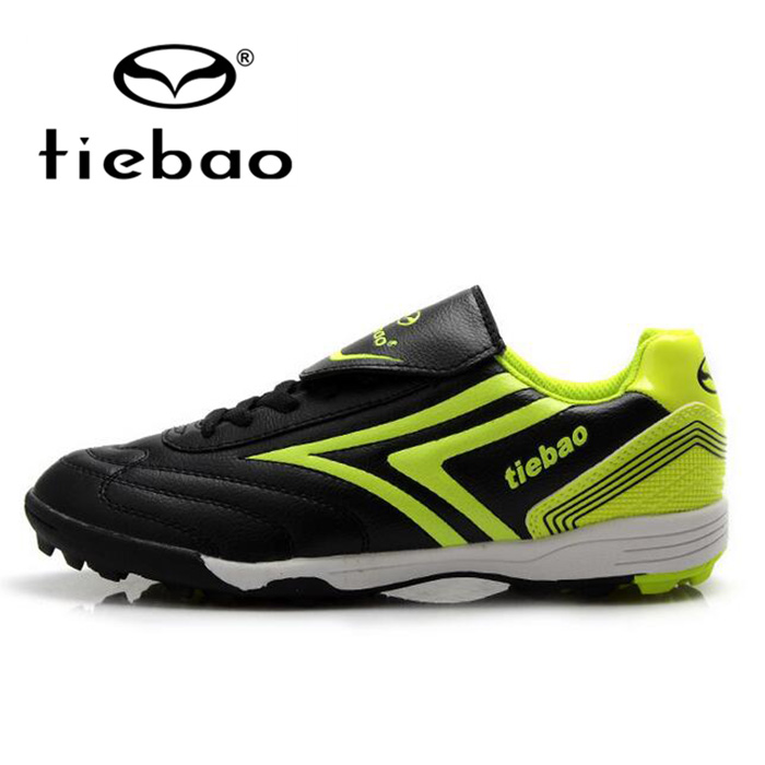 Tiebao Pro Outdoor Soccer Shoes Children Kids Teenagers TF Turf Sole Football Boots Training Shoes Sneakers