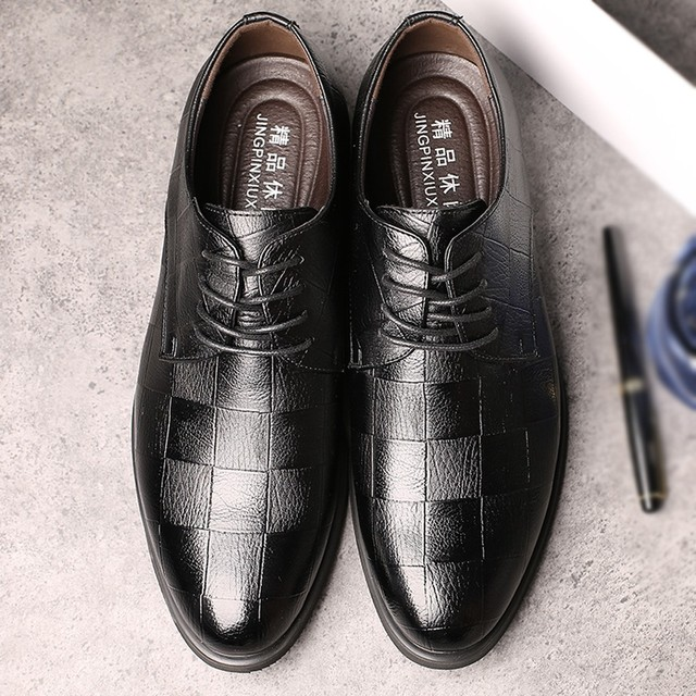 Perimedes Leather Dress Shoes for Men - Non-slip 5