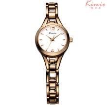 Kimio Brand Casual Fashion Quartz Bracelet Wristwatches Stainless Steel Waterproof Lady Dress Watches Relogio Feminino Student