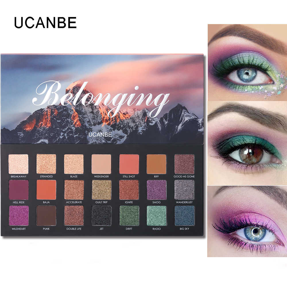 10c6c526e132 Detail Feedback Questions about UCANBE Brand New Eyeshadow Palette ...