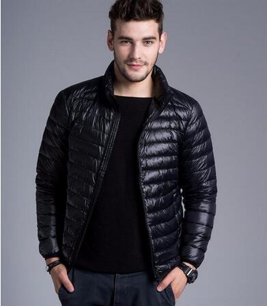 2017 New Arrival Men's Thick Warm Winter Down Coat Fur Collar Parka Big Yards Long Cotton Coat Jacket Parka Men Outwear Parka
