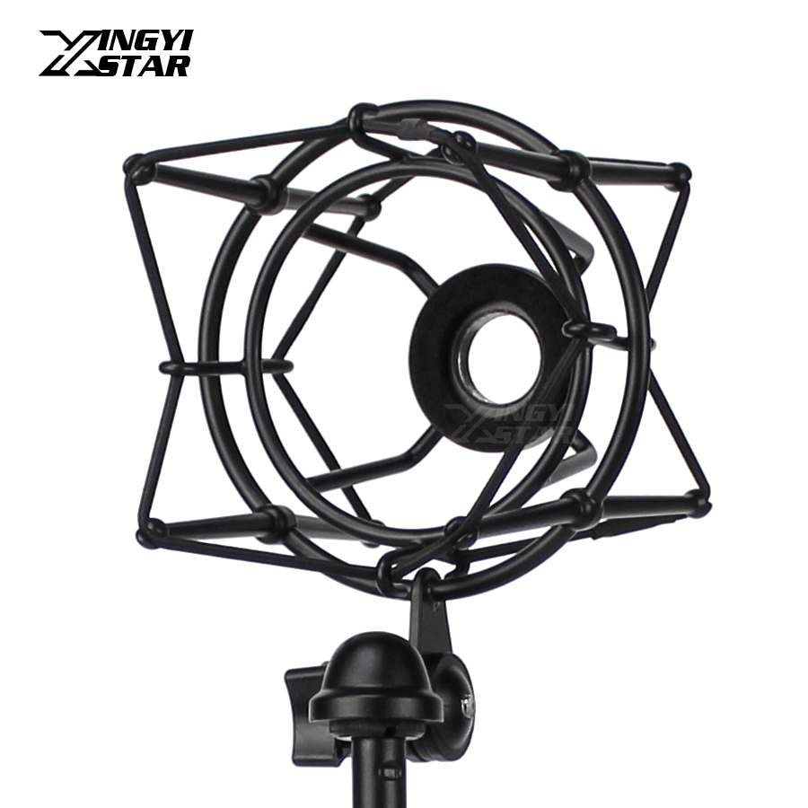 Metal Shock Mount Stand Microphone Spider Shockmount Mic Holder Shockproof For Avantone CV12 BLA CK6 CK7 BV1 CV95 BV12 Studio PC