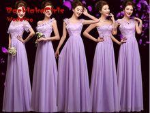 Bridesmaid Gown Lengthy Mild Purple Low cost Coral Mint Inexperienced Blush Wedding ceremony Promenade Get together Convertible 2017 vestidos de festa Attire