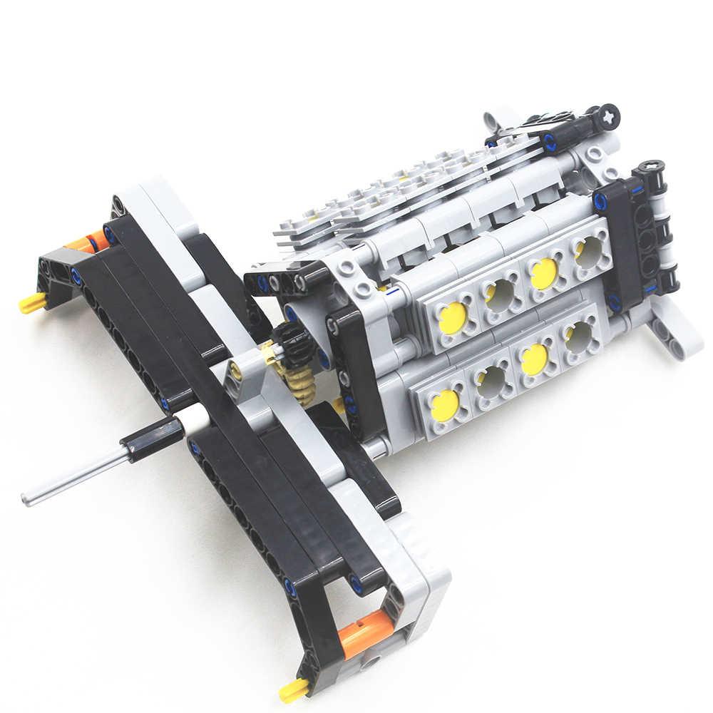 MOC Technic Parts 78pcs Front Suspension System compatible with lego