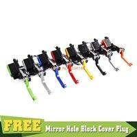 7/8 Motorcycle Brake Clutch Master Cylinder Reservoir Levers Set For Honda CR 80R CRF 125F 150R 250R 450R 250X 450X 230F XR CBR
