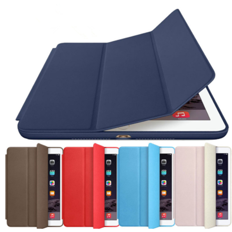1:1 Official Original Leather Magnetic Smart Case For Apple Ipad 9.7 Inch Case Fundas