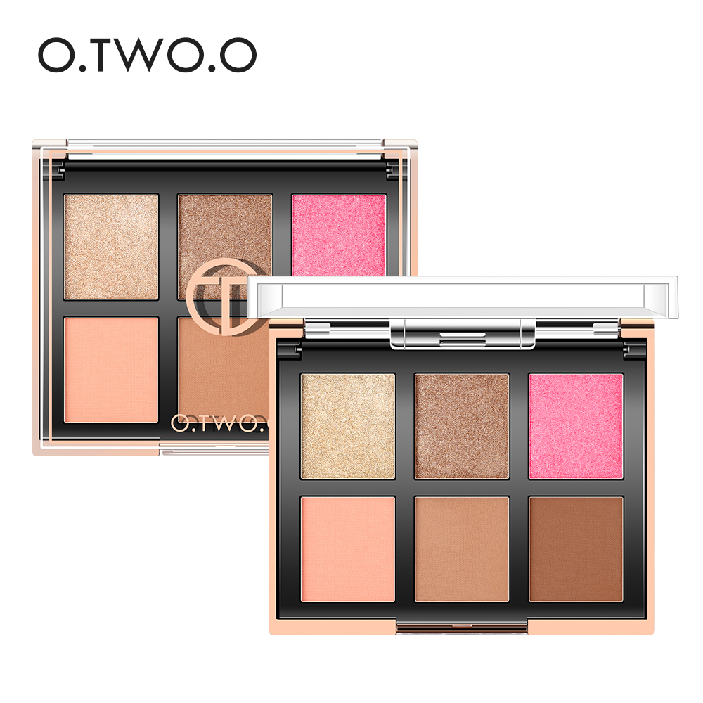 O.TWO.O Eyeshadow Palette Matte Diamond Glitter Matallic Eye Shadow in One Palette Shimmer Blush Makeup Set for Beauty Make Up de lanci newest 35 colors shimmer matte eye shadow professional makeup eyeshadow palette beauty make up set
