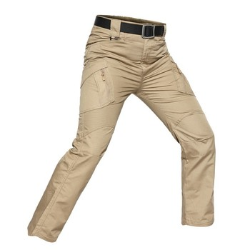 Outdoor Stretch Hiking Pants Mens Trekking Camping Fishing Quick Dry Pants Army Tactical Multiple Pocket Sports Trousers S-5XL