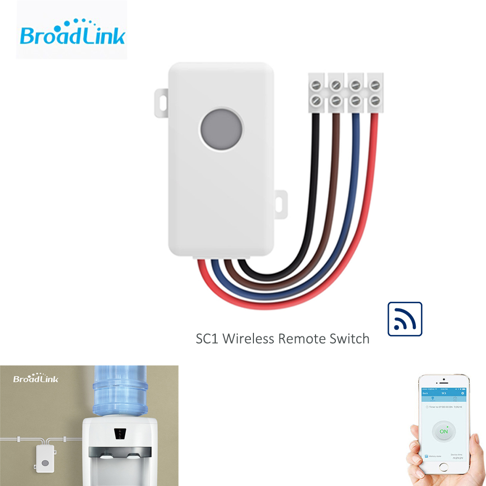Broadlink SC1 Wifi Controller Smart Home Automation Modules IOS Android Phone APP Wireless Wifi Remote Control Switch 100-250V