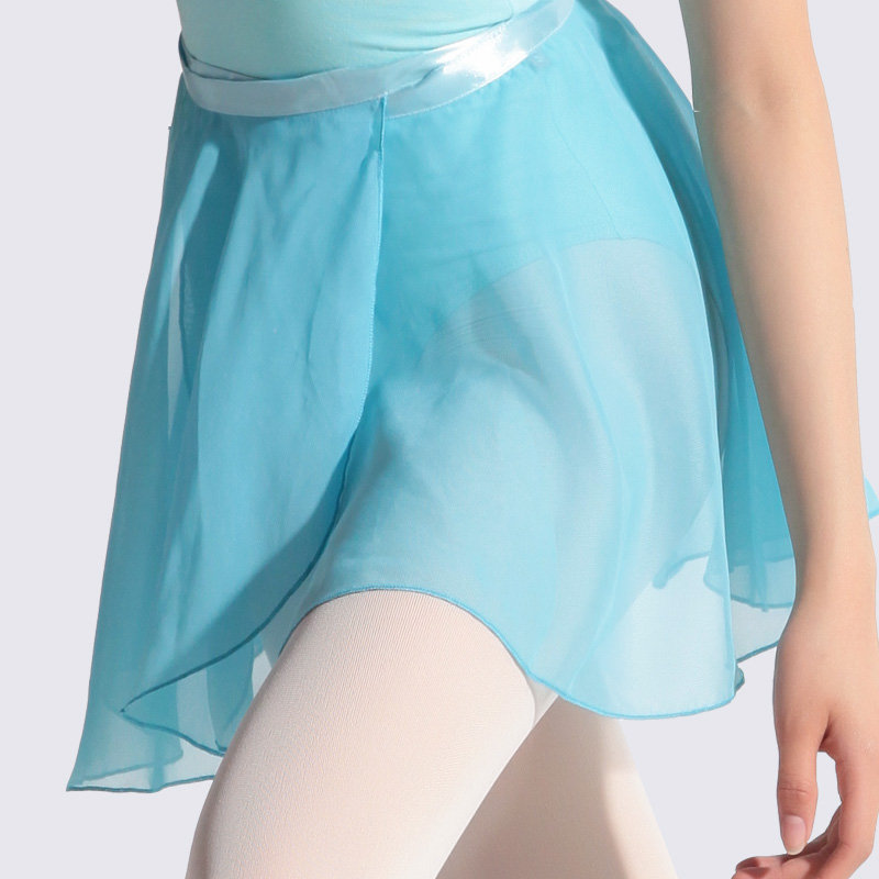 2017 New Fashion Ballet Skirt Midi Tutu Skirts Women High Waist Midi Light Blue Female Short Veil