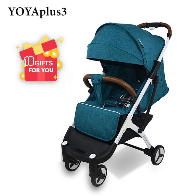 YOYA Plus 3 Stroller YOYA Plus Baby Stroller 9 Gifts Baby stroller New Design 2019 Lightweight
