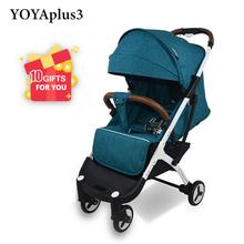 YOYA Plus 3 wózek YOYA Plus wózek dziecięcy 9 prezentów wózek dziecięcy nowy projekt 2019 lekki wózek Carrinho de Bebe tanie tanio 2-3Y 7-9 M 4-6 M 19-24 M 0-3 M 10-12 M 13-18 M 30kg YOYAPLUS 3 Numer certyfikatu