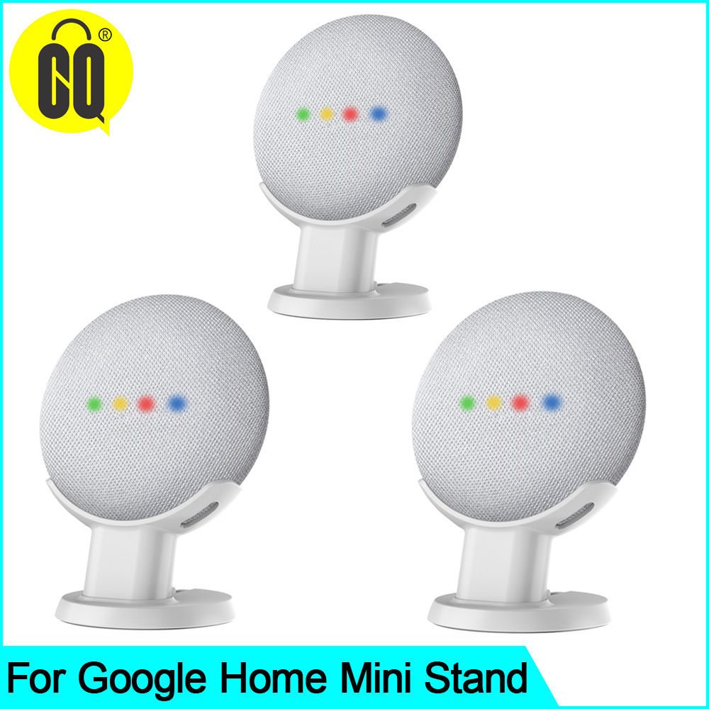 2019 For Google Home Mini Desktop Stand Table Holder Voice Assistants Compact Holder Case Plug In Kitchen Bedroom Audio Mount