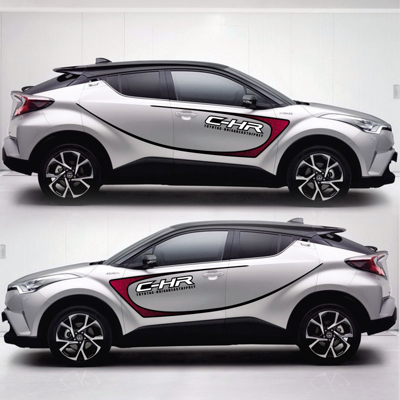 TAIYAO car styling sport car sticker For TOYOTA C-HR car accessories and decals auto sticker цена