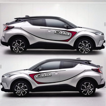 цена на TAIYAO car styling sport car sticker For TOYOTA C-HR car accessories and decals auto sticker