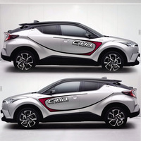 TAIYAO car styling sport car sticker For TOYOTA C HR car accessories and decals auto sticker