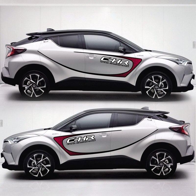 TAIYAO voiture style sport voiture autocollant pour TOYOTA C-HR voiture accessoires et décalcomanies auto autocollant