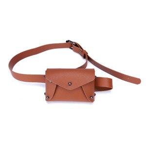 حقائب للنساء 2019 الجلود حقيبة ساعي حقيبة كتف المرأة الأزياء البسيطة الصرفة اللون حقيبة صدر للرجال بولسا الأنثوية * 0.92