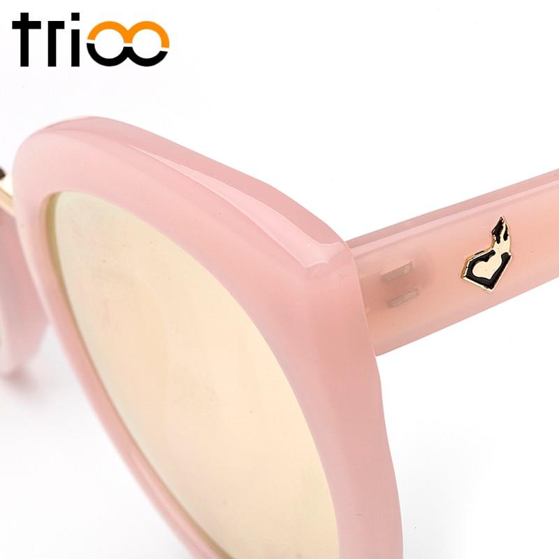 TRIOO UV400 Qoruyucu xanımlar Pişikli göz eynəkləri böyük - Geyim aksesuarları - Fotoqrafiya 6