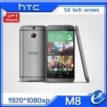 """Original htc one m8 desbloqueado gsm 3g 4g 3 cámaras Android 5.0 6.0 Quad core 2 GB 32 GB Teléfono Móvil 5.0 """"$ NUMBER MP reformado UE ver"""