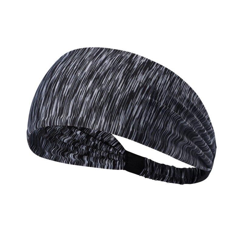 ★  4 цвета женщины йога резинка для волос спортивная повязка на голову из хлопка завязанная тюрбанская  ✔