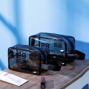 Bolsa de baño portátil de gran capacidad para hombres y mujeres de - Organización y almacenamiento en la casa