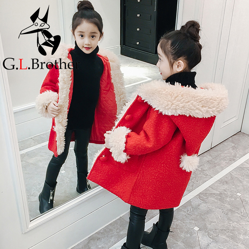 Toddler Girls Winter Jacket Long Coats Hooded Parkas Thick Outwear Korean Style Children Jackets Kids Autumn Coat Clothes A04 medium long style korean style hooded coat