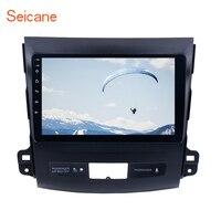 Seicane 2Din gps мультимедийный плеер 9 Android 6,0/7,1 радио автомобиль MITSUBISHI Outlander 2006 2007 2014 аудио Поддержка Bluetooth