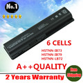 Wholesale  New 6 CELLS laptop battery for hp DV4 DV5 DV6 CQ30 CQ40 CQ45 CQ50 CQ60 CQ61 CQ71 G50 G60 G70 HSTNN-W49C FREE SHIPPING