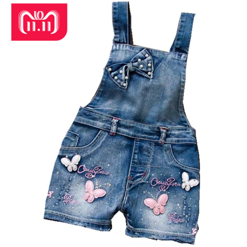 2016 SPRING Summer US Style Girl Jumpsuit Cute Sweet Fashion Washed Jeans Denim Romper Jumpsuits Straps Short Pants Cowboy Blue new 2016 fashion brand women washed denim casual hole romper jumpsuit overalls jeans macacao feminino vintage ripped jeans
