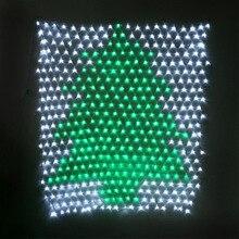 JUNJUE LED Fairy String Light Xmas Tree Mesh Curtain Ceiling House Window Wall Net Festival Christmas Holiday Decoration