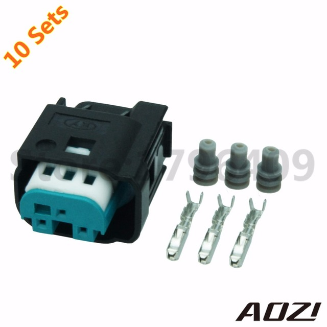 3 Pins 0 6mm Series Auto Wiring Connector With Terminal 1 967642 1 Ten Sets_640x640 3 pins 0 6mm series auto wiring connector with terminal 1 967642 1