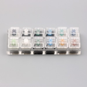 Image 3 - Tıknaz lineer dokunsal anahtarı test cihazı kiraz zealio gateron kutusu anahtarı test cihazı şeffaf klavye tuş takımı