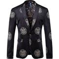 2016 Печатных Мужчин Блейзеров Мода Повседневная Хип-Хоп Городской Стиль Классический Пиджаки T0092