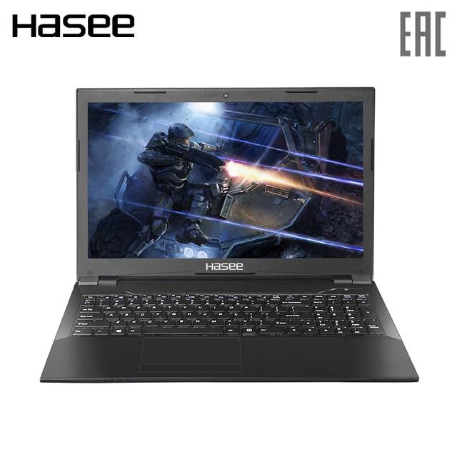"Игровой ноутбук Hasee K680E-G6E3 15.6"" IPS FHD/ i5-8400 2.8 GHz/GTX1050Ti 4ГБ/ 8ГБ/256ГБ SSD+1TБ HDD/White подсветка/Dos"