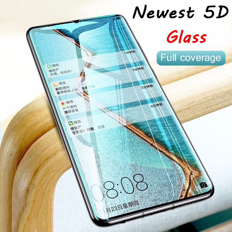 5D Curved Full Cover Tempered Glass for Huawei P30 Pro Smartphone Screen Protector Film for Huawei P20 Lite P 30 Protecive Glass