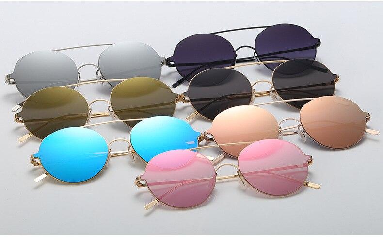 c4 Di c6 Oculos Rotondi O 2019 Feminino c1 C5 D Vintage Donne Marca Occhiali Del Sol c3 c2 Da c7 Rosa De Sole Progettista Delle Retro Signore qpgwF
