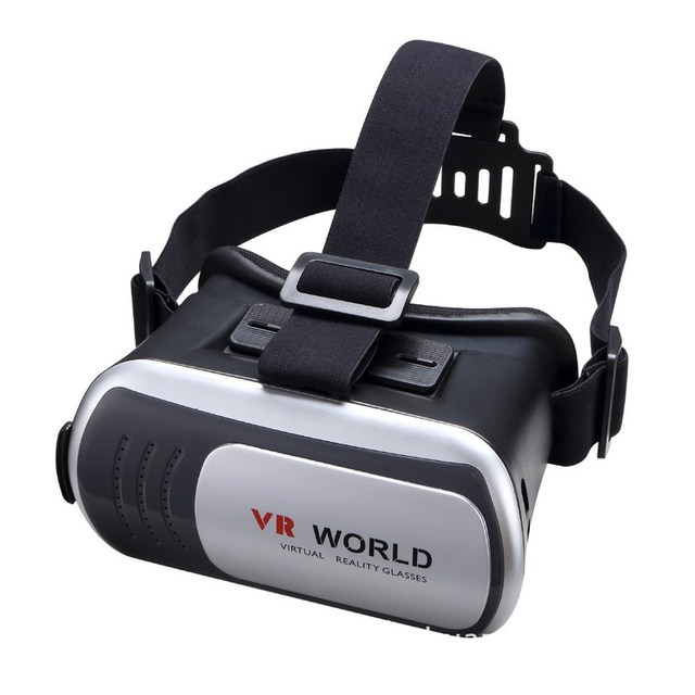 NI5L VR Мир 3D Очки VR VR ОКНО Виртуальной Реальности 3D очки Гарнитура для iPhone 6 6 s Plus Samsung S6 S7 Edge смартфон