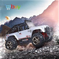RC Car 4WD Rock Crawlers Bigfoot Car Model High Speed Remote Control Drift Off Road Vehicle SUV Buggy Electronic Toys 2.4G 1:22