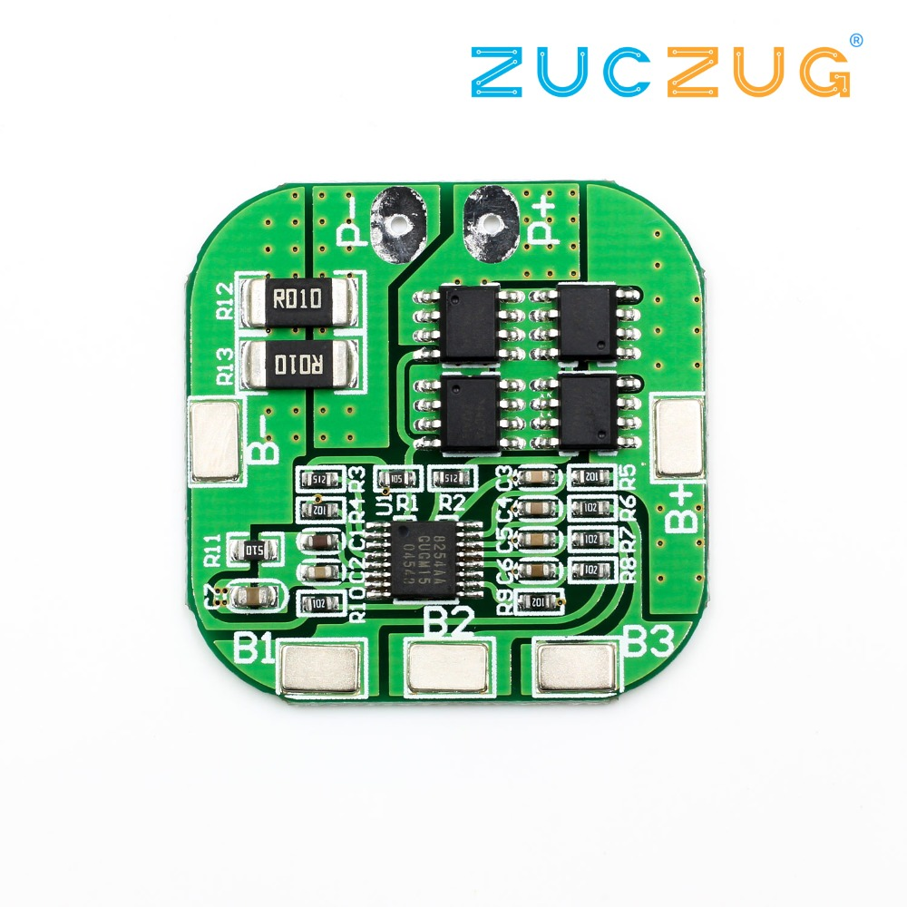 4s 148v Lithium Battery Protection Board Overcharge Overdischarge Overvoltage Ic Short Circuit 20a Current Limit In Integrated Circuits From
