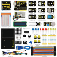 2018 NEW!keyestudio Environment Monitoring PM2.5 Kit for Arduino Education Starter With Uno board +V5