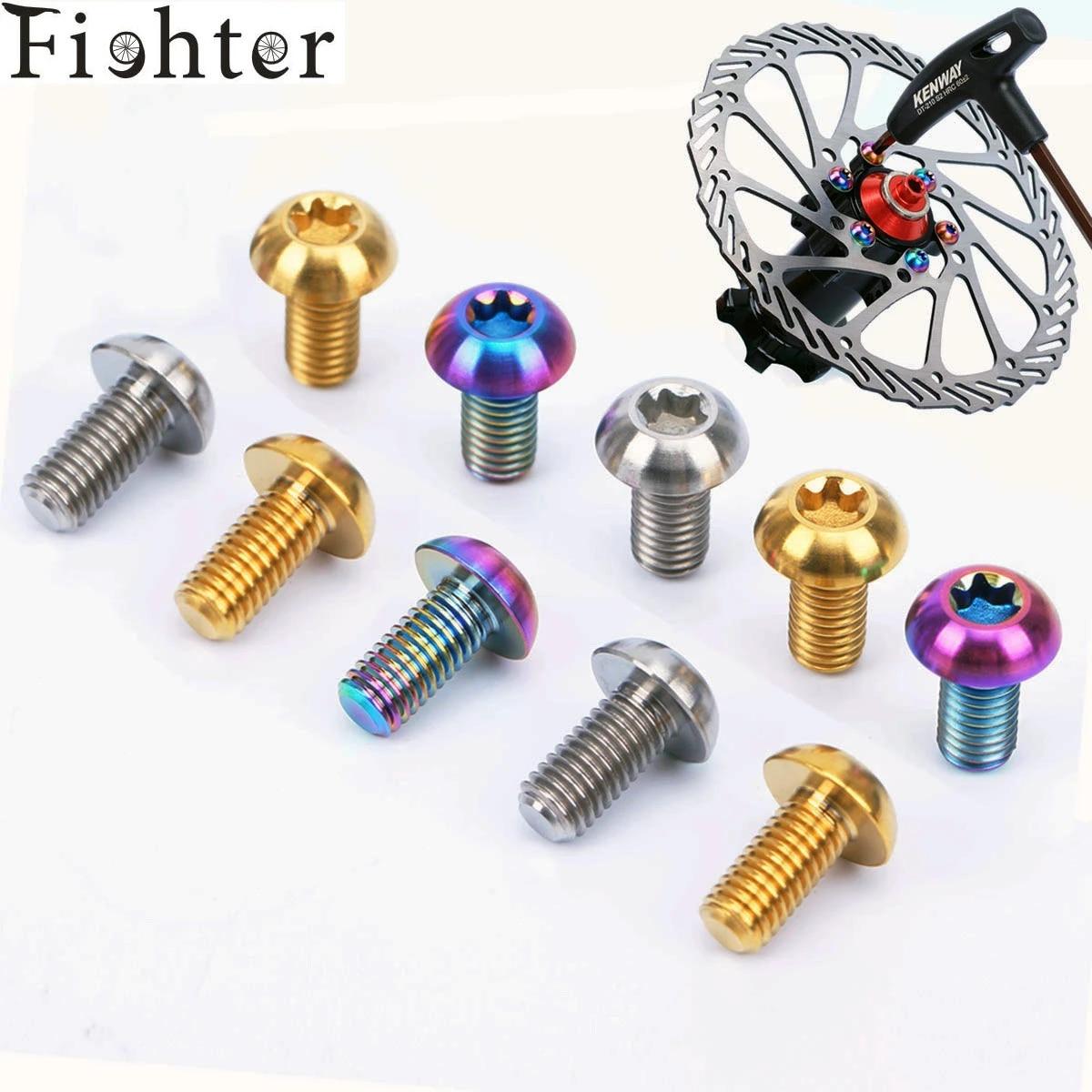 12 STÜCKE Leichte Fahrrad Scheibenbremse Rotor T25 Schrauben Radfahren Zubehör