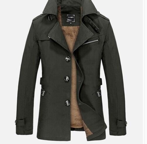 春洗浄ジャケット男性ビジネスカジュアル綿ターンダウン襟男ウインドブレーカー固体カジュアルウィンドブレーカー男性コート